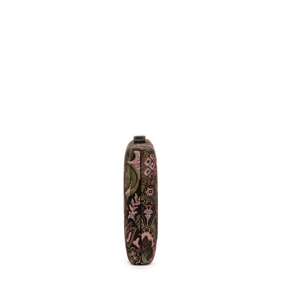 LARGE ISMAY COLLECTION CLUTCH  PINK JACQUARD  hi-res