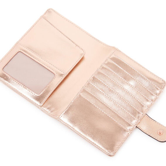 ADDRIA TRAVEL WALLET  ROSE GOLD  hi-res