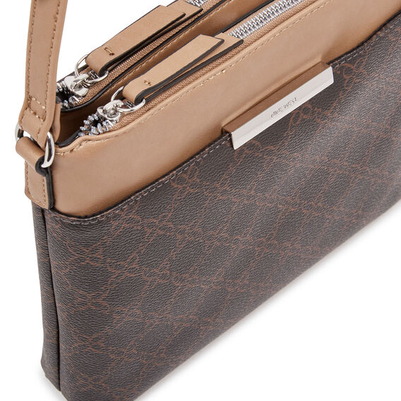 MOMENT CROSS BODY  BROWN  hi-res