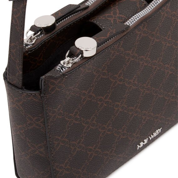 PROSPER MINI CROSS BODY  BROWN  hi-res