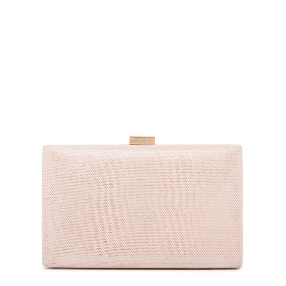 LARGE ISMAY COLLECTION CLUTCH  LIGHT PINK  hi-res