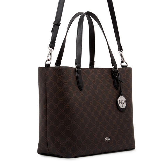 BRYN TOTE  BROWN  hi-res