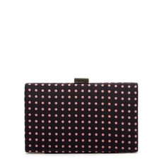 LARGE ISMAY COLLECTION CLUTCH  POLKA DOT  hi-res