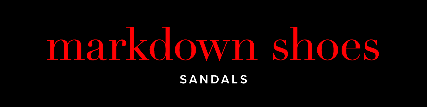 Markdown Shoes Sandals